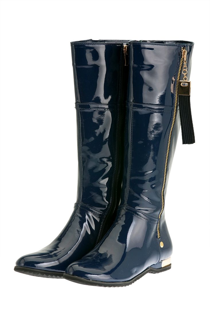Lacivert Rugan Çizme