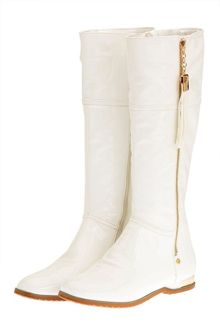 Beyaz Rugan Çizme