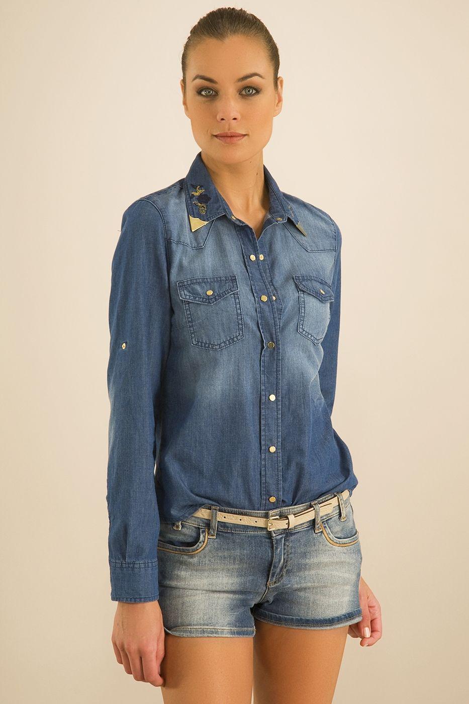 Mavi Denim Gömlek