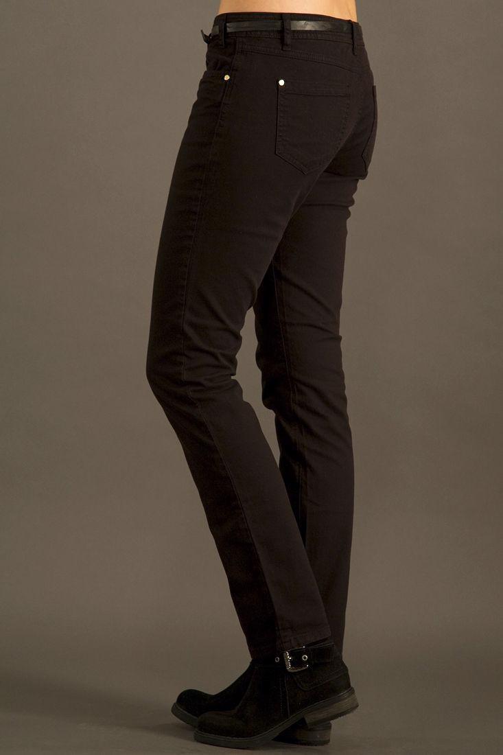 Bayan Siyah Dar Kesim Pantolon