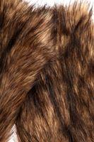 Bayan Kahverengi Kürk Detaylı Kol Aksesuarı
