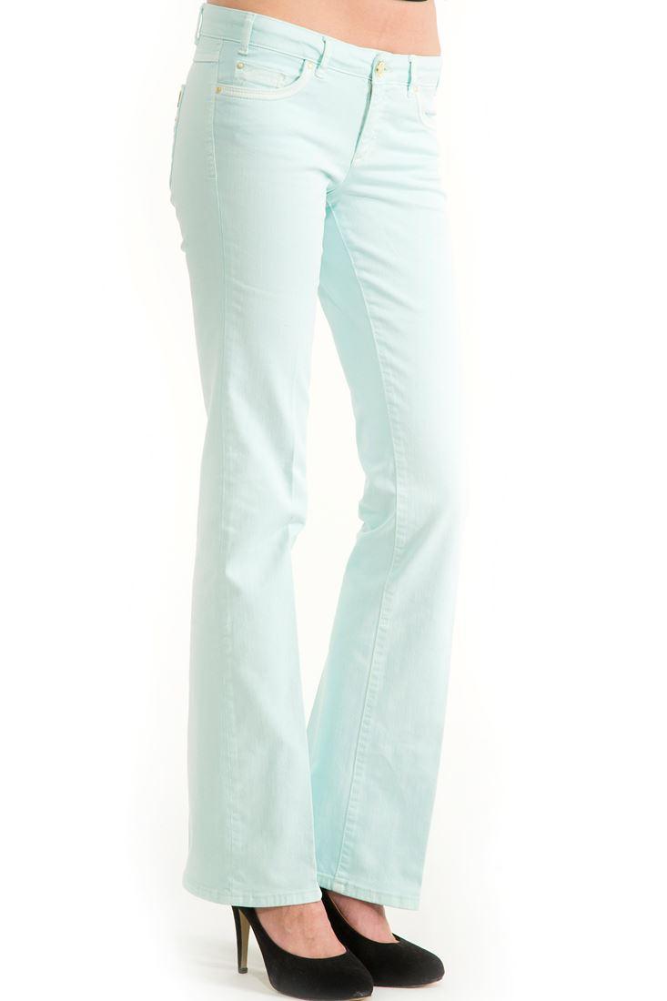 Yeşil Boru Paça Pantolon