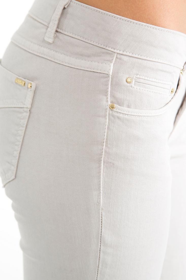 Bayan Gri Dar Kesim Pantolon