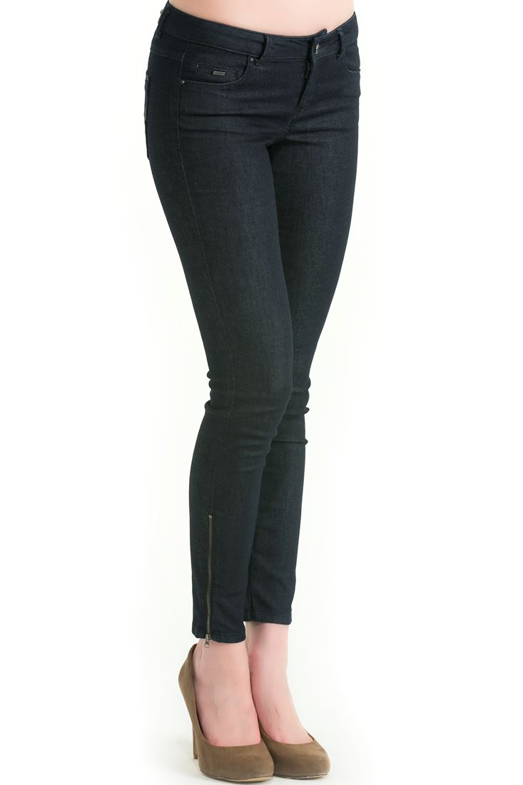 Blue Skinny Fit Denim Pants