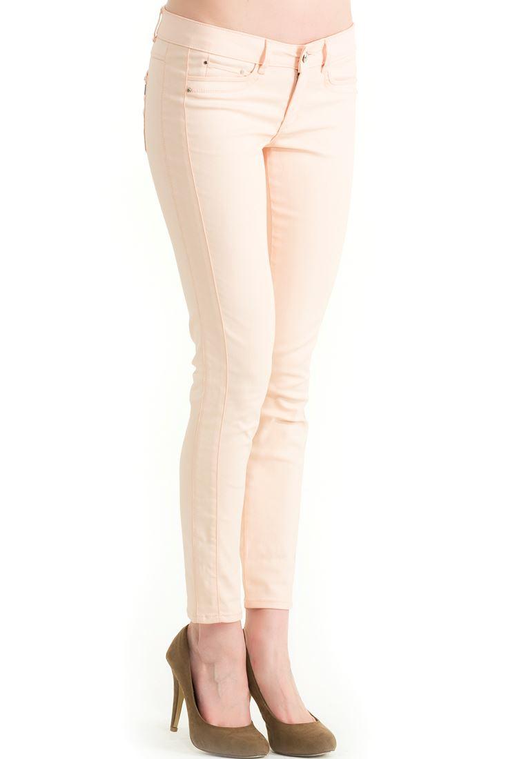 Pink Skinny Fit Pants