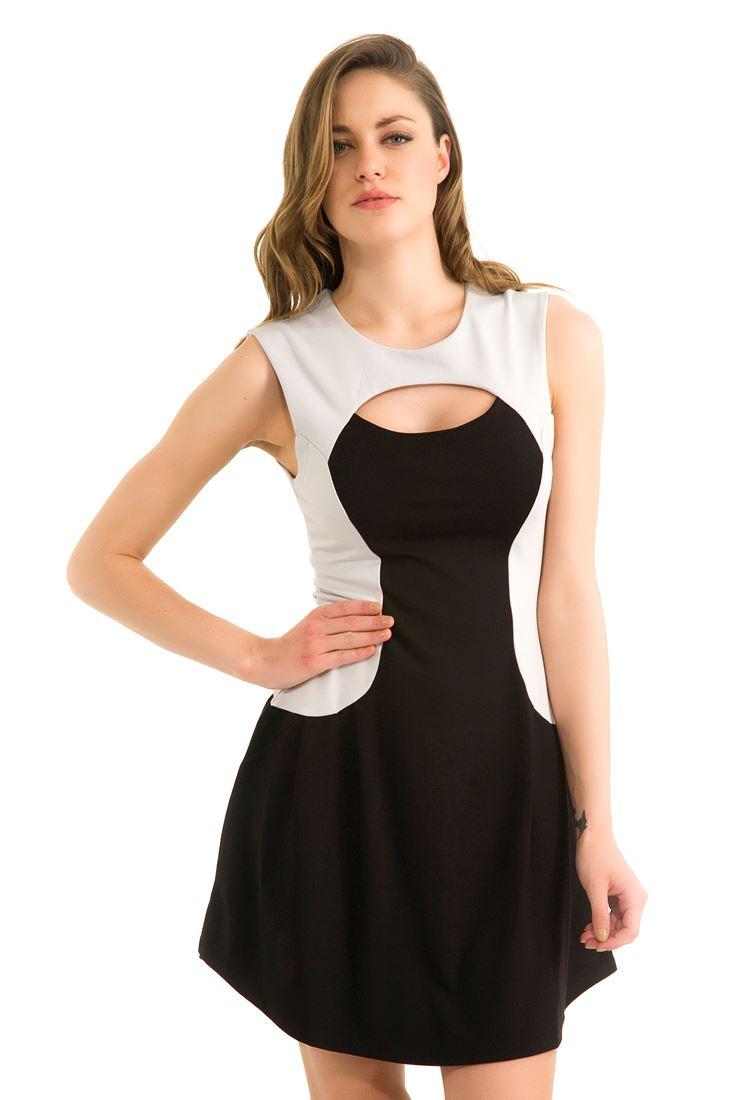 Siyah Dar Elbise