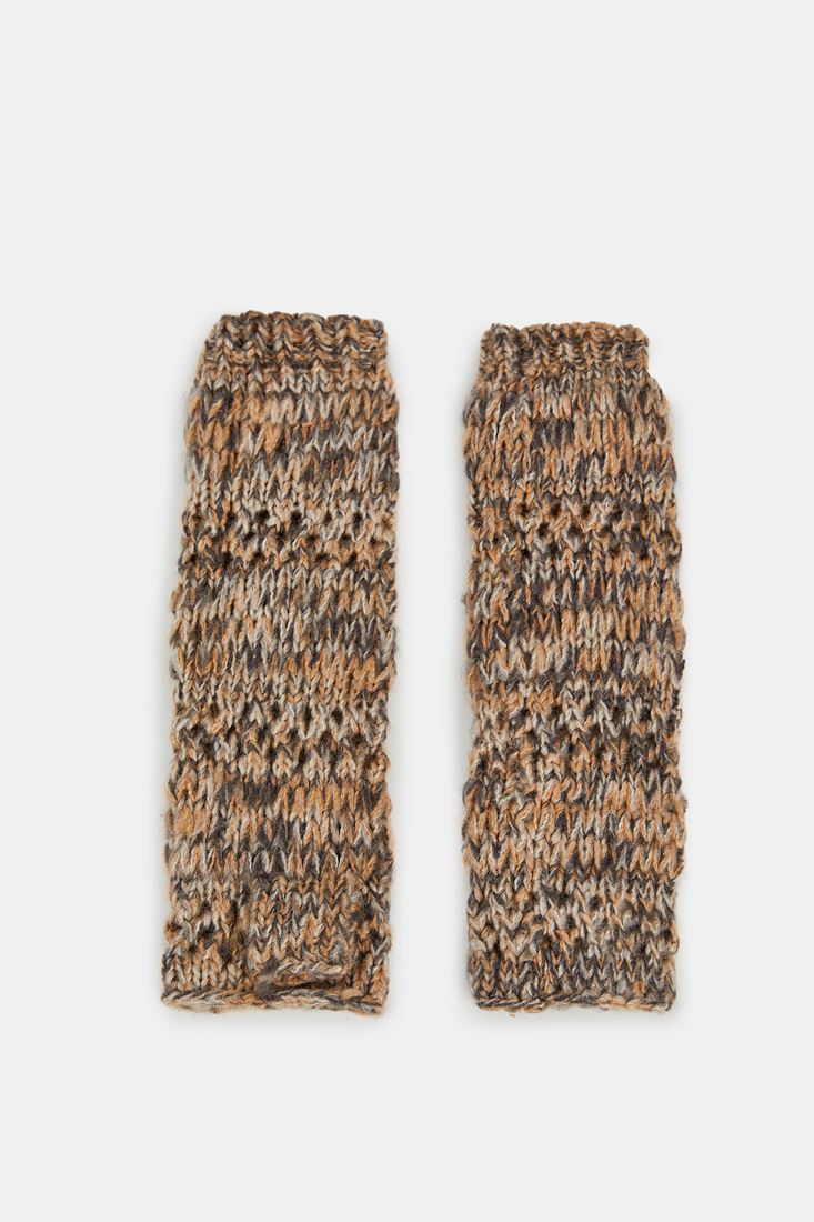 Brown Knitted Glove
