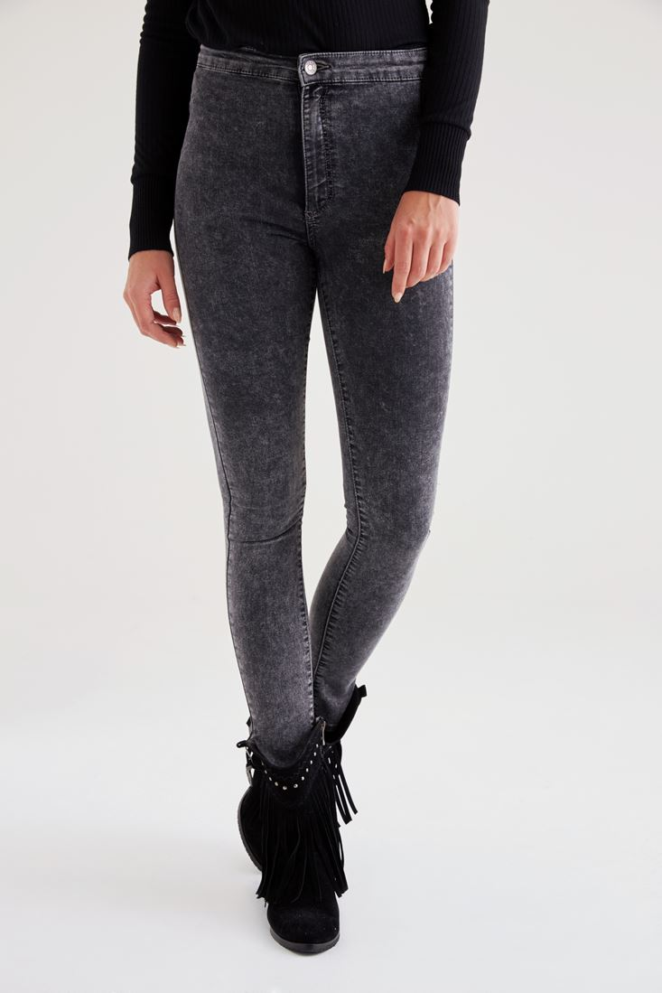 Grey Ultra High Rise jeans