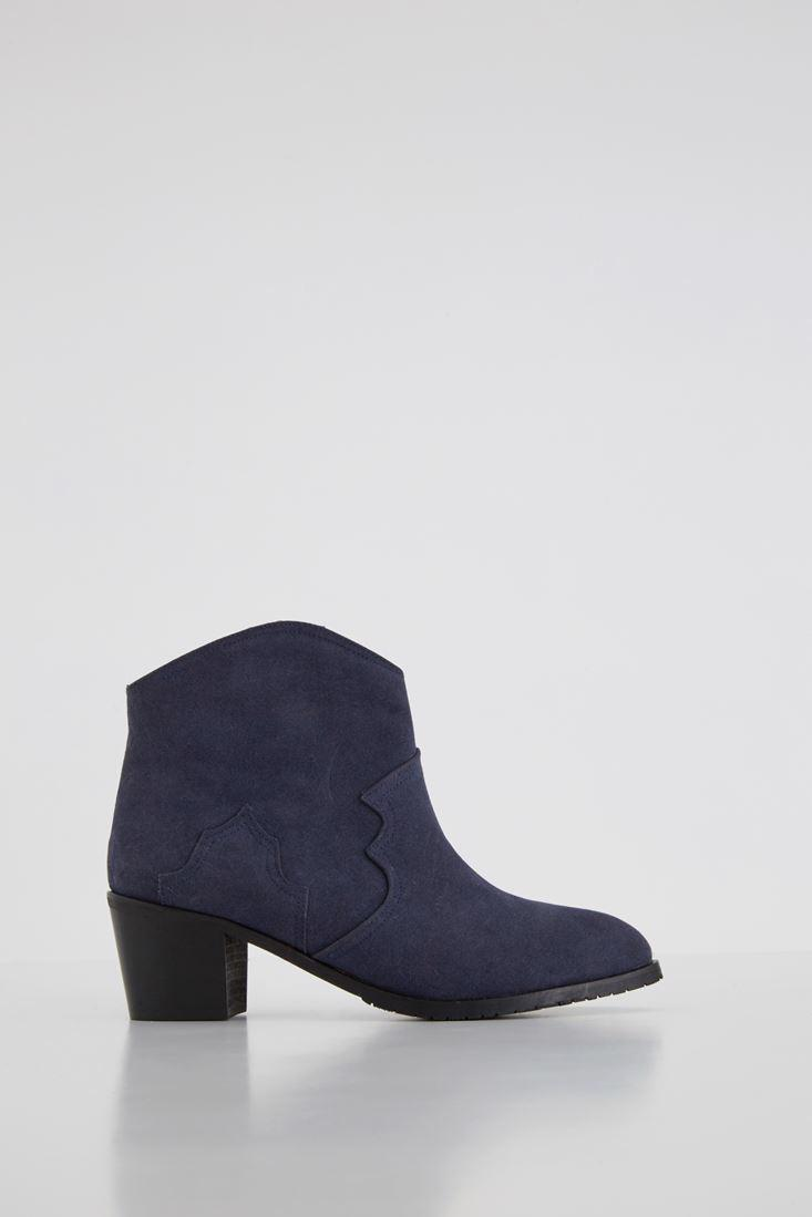 Women Navy Basic Boot