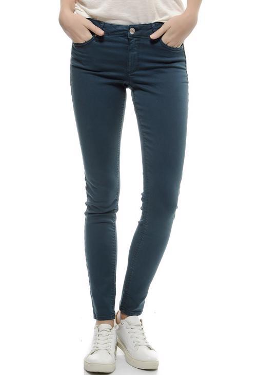 Lacivert Düşük Bel Skinny Pantolon