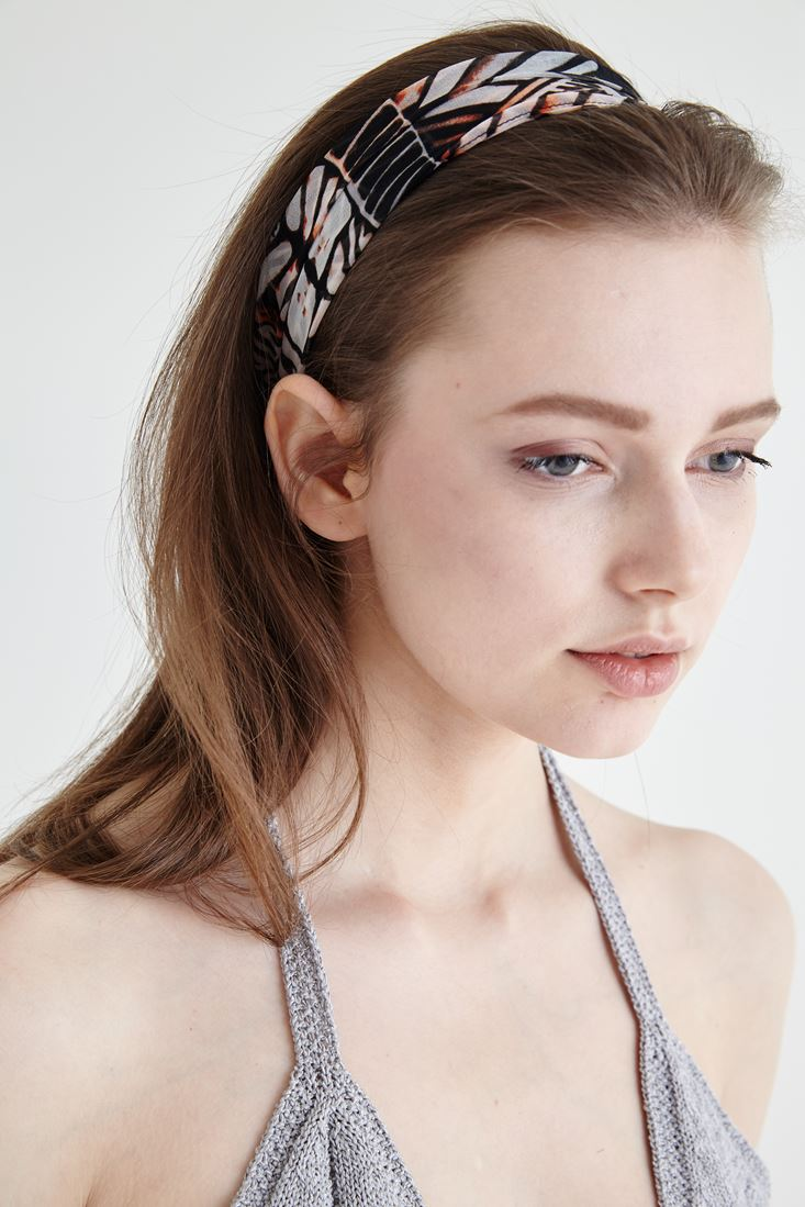 Mixed  Geometric Pattern Hair Band