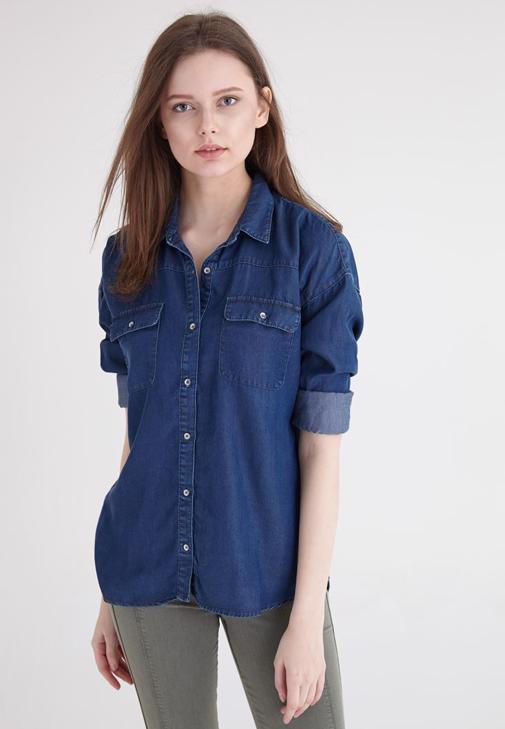 Mavi Denim Tencel Gömlek