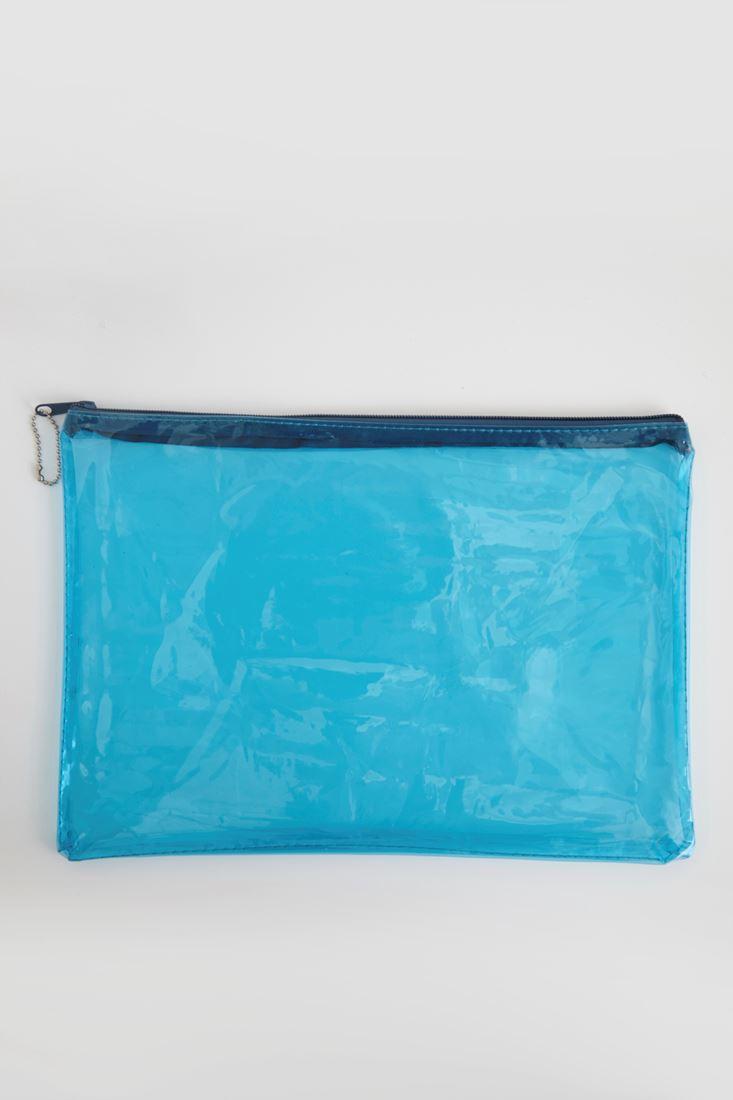 Bayan Beyaz Şeffaf El çantası