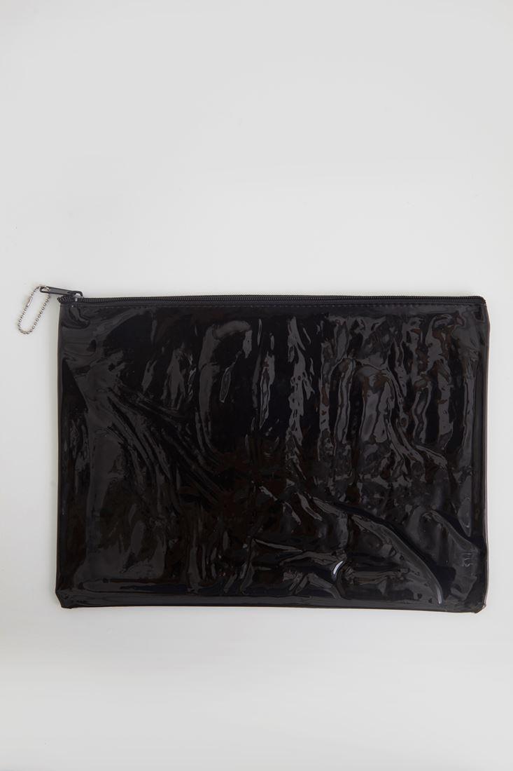 Bayan Siyah Şeffaf El çantası