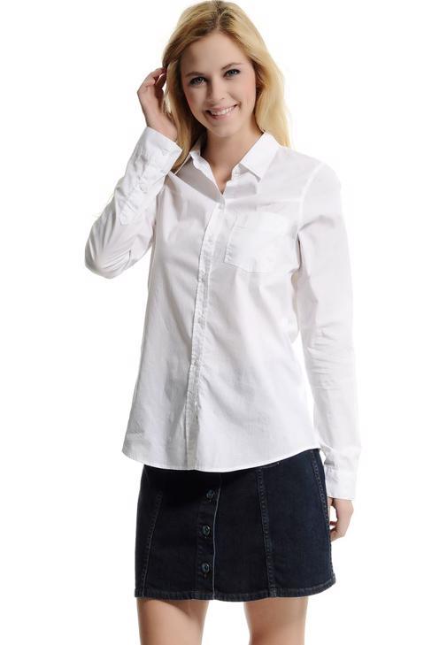 Beyaz Uzun Kollu Beyaz Gömlek