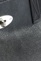 Bayan Siyah Örgü Sap Detaylı Çanta
