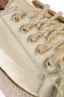 Bayan Altın Bağcıklı Ayakkabı