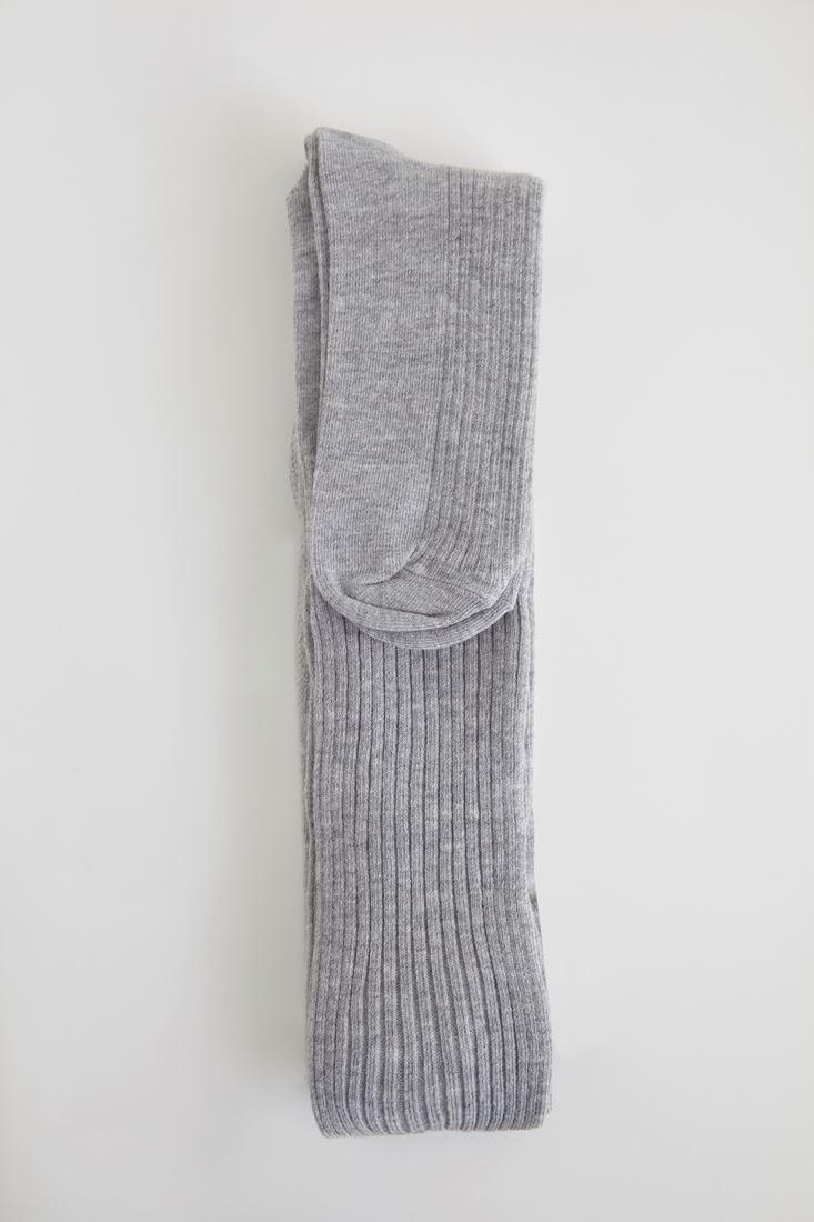 Gri Külotlu Çorap