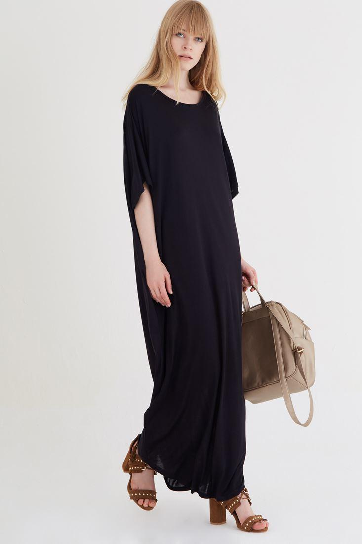 Siyah Bol Maxi Dress