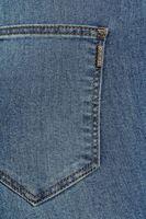 Bayan Mavi Yüksek Bel Skinny Denim Pantolon