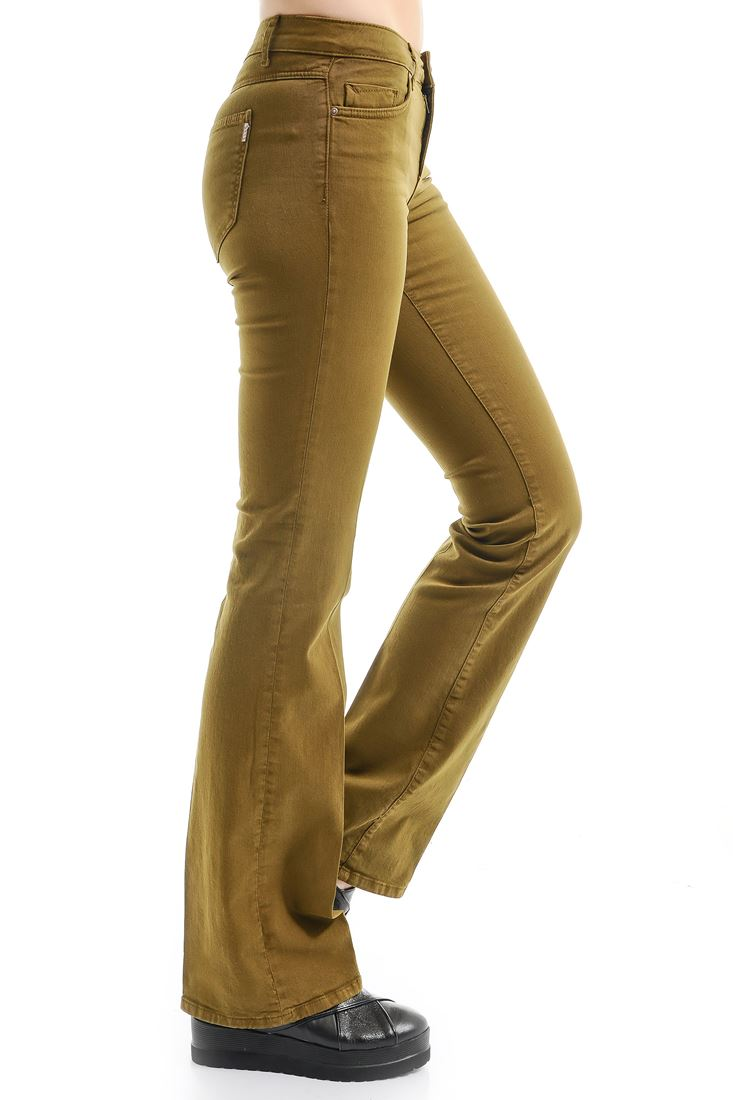 Green Bella Boot Cut Trouser