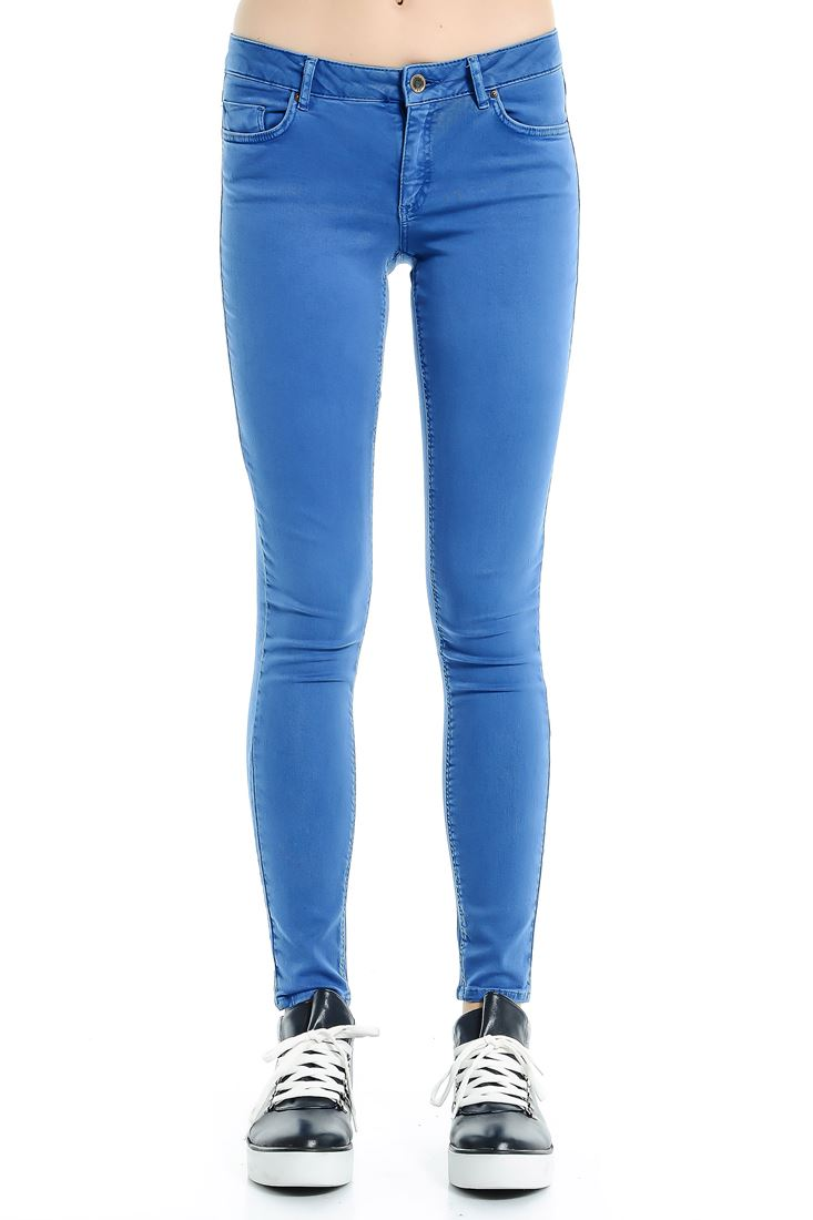 Blue Adela Low Waist Skinny Jean