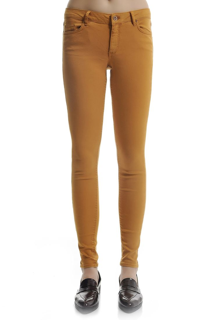Orange Adela Low Waist Skinny Jean