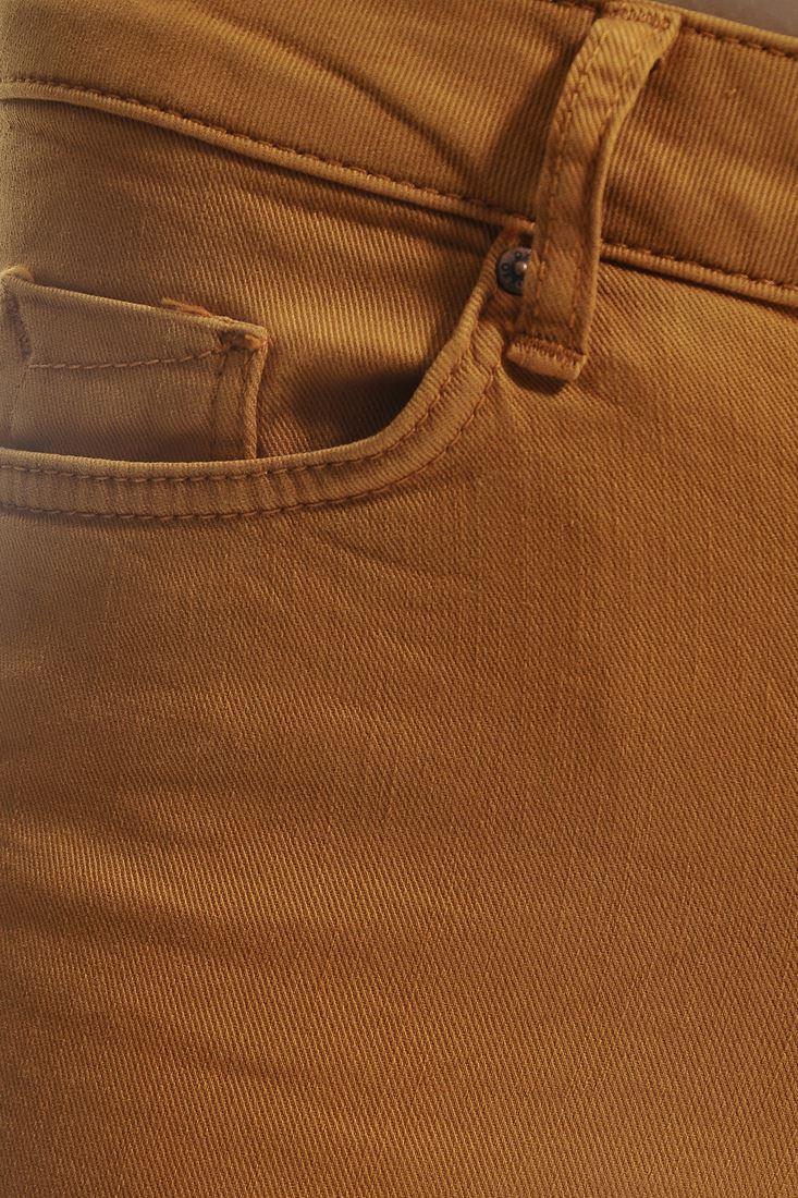 Bayan Turuncu Adela Düşük Bel Skınny Pantolon