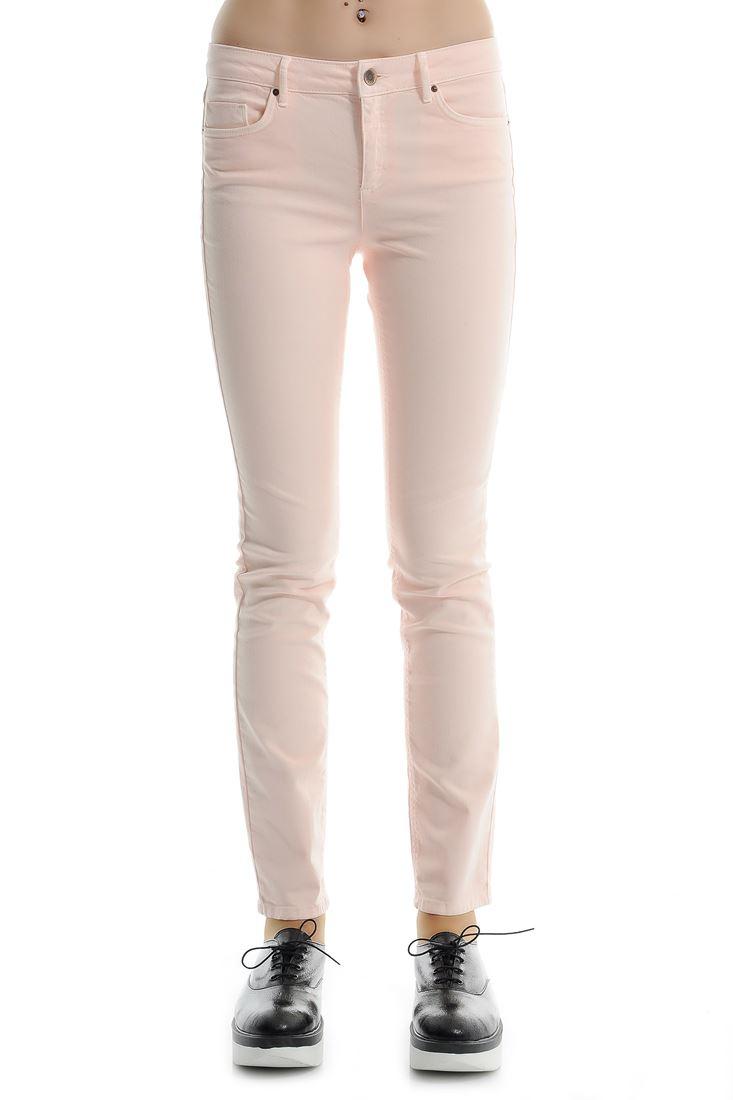 Pink Pencil Leg Jean