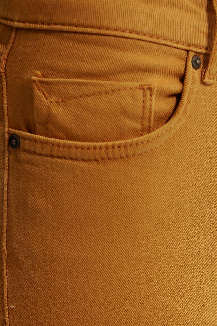 Bayan Turuncu Kalem Paça Pantolon