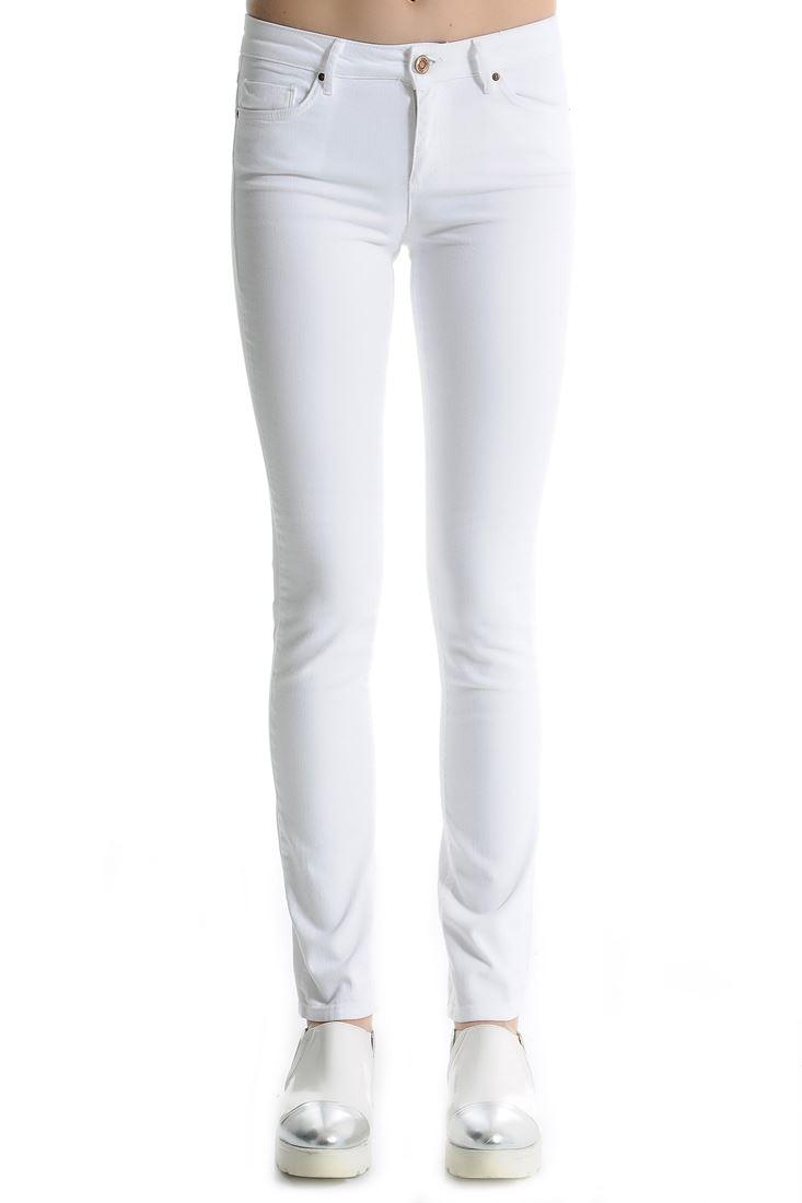 White Pencil Leg Jean