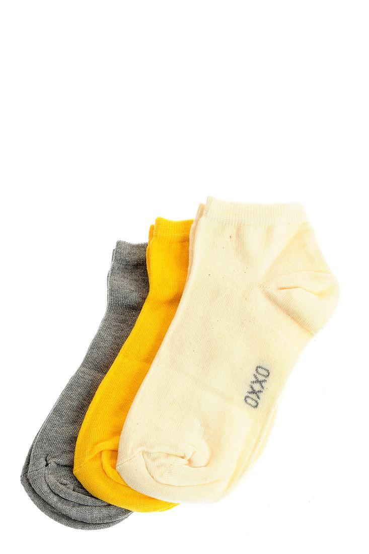 Bayan Çok Renkli Spor Basic Çorap