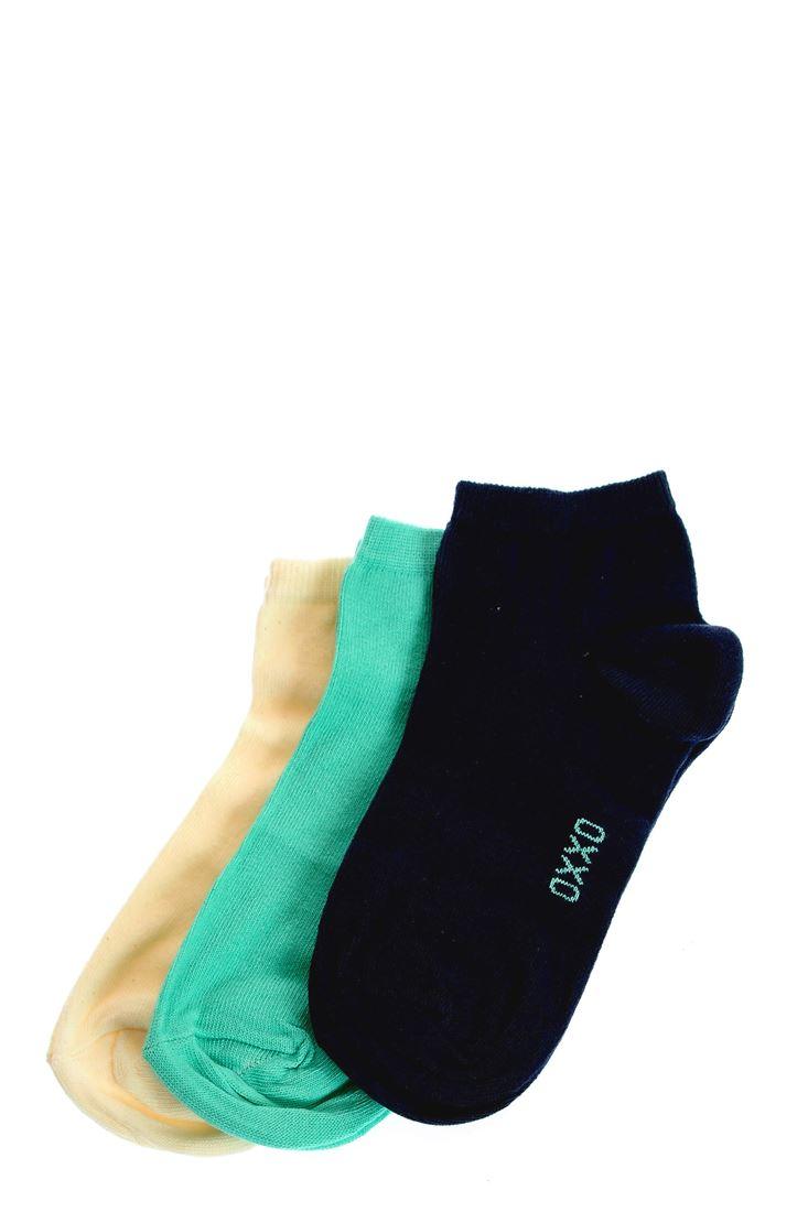 Bayan Lacivert Spor Basic Çorap