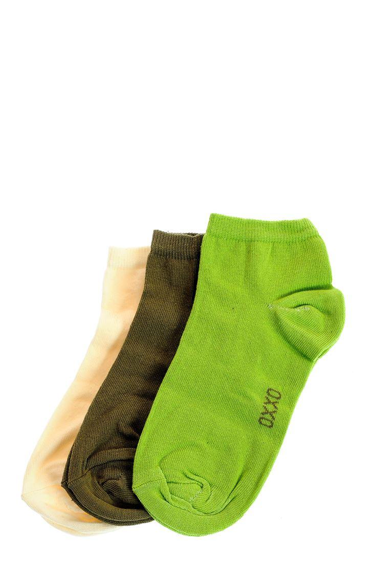 Bayan Yeşil Spor Basic Çorap