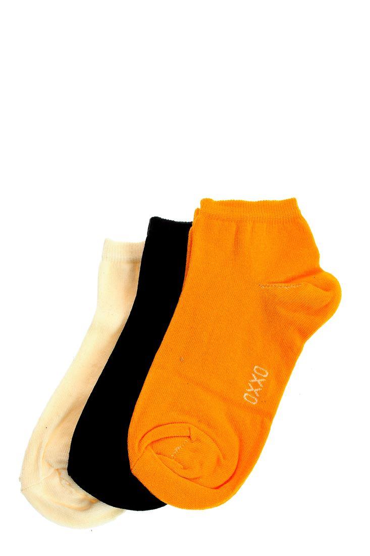 Bayan Sarı Spor Basic Çorap