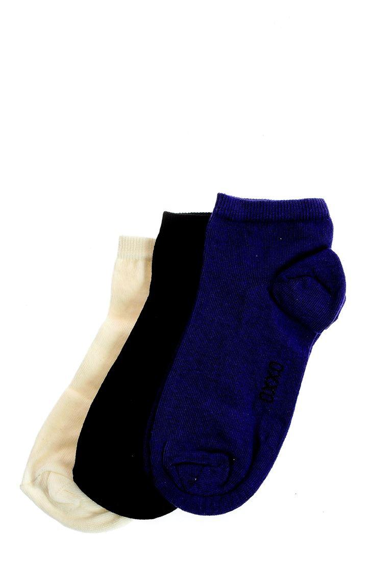 Bayan Mor Spor Basic Çorap