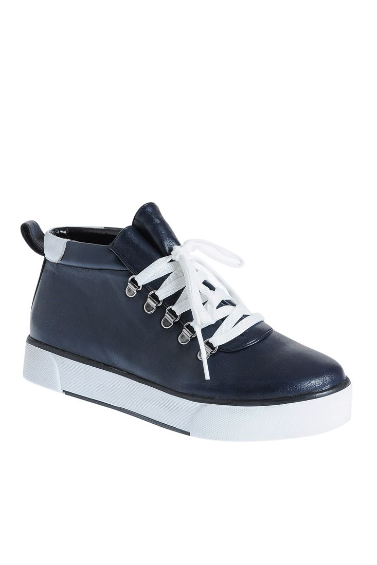 Navy High Top trainers