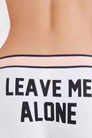 Bayan Pembe Slogan Detaylı Külot