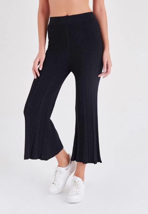 Siyah Triko Pantolon