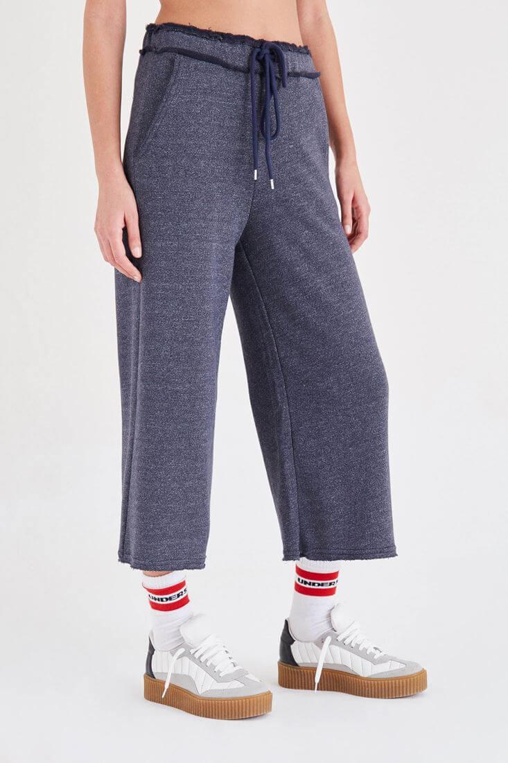 Lacivert Rahat Kesim Pantolon