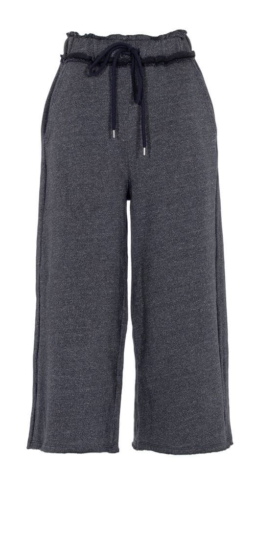 Bayan Lacivert Rahat Kesim Pantolon