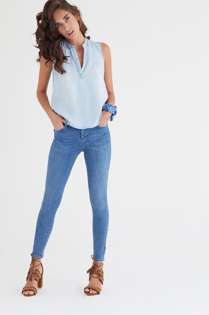 Düşük Bel Skinny Jean