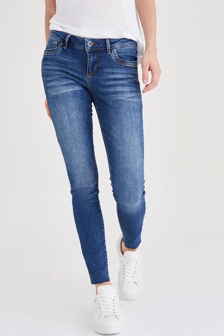 Blue Low Rise Skinny Jean