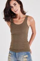 Bayan Yeşil Basic Atlet