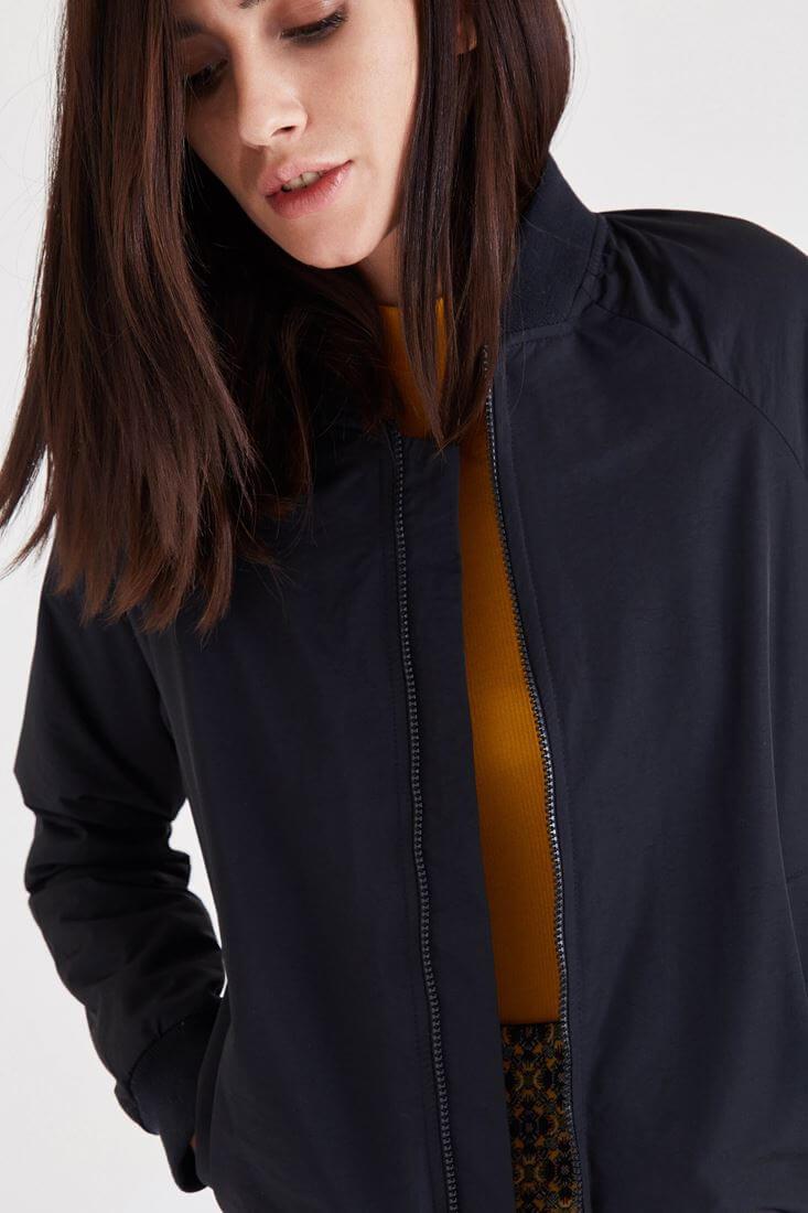 Bayan Siyah Bomber Ceket