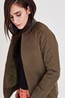 Bayan Yeşil Bomber Ceket