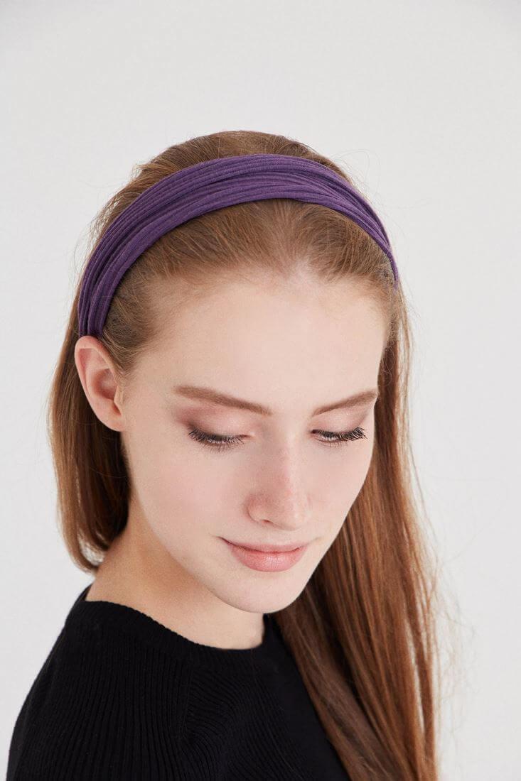 Bayan Mor Renkli Saç Bandı