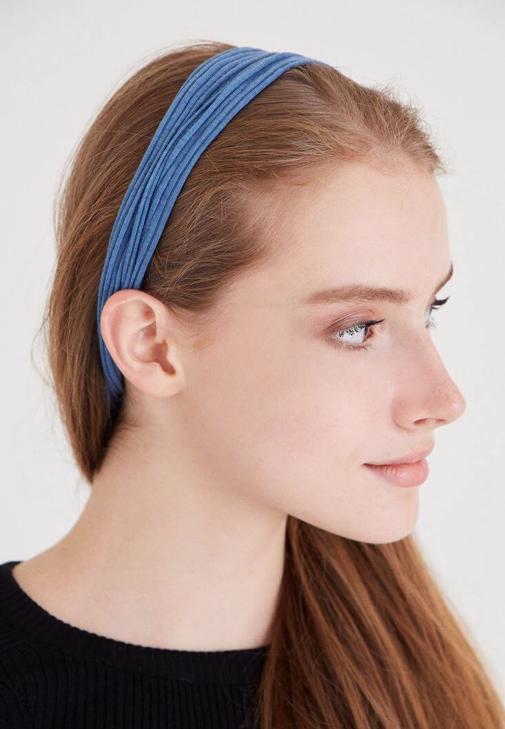Mavi Renkli Saç Bandı