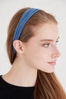 Bayan Mavi Renkli Saç Bandı