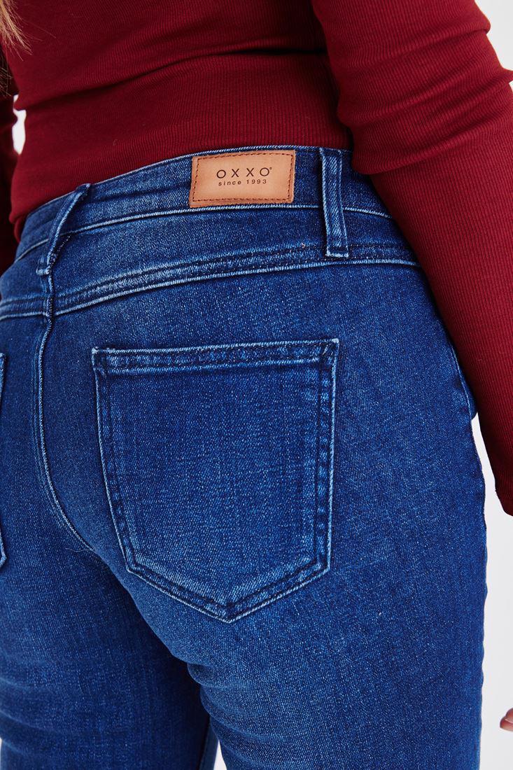 Women Blue Low Rise Jean